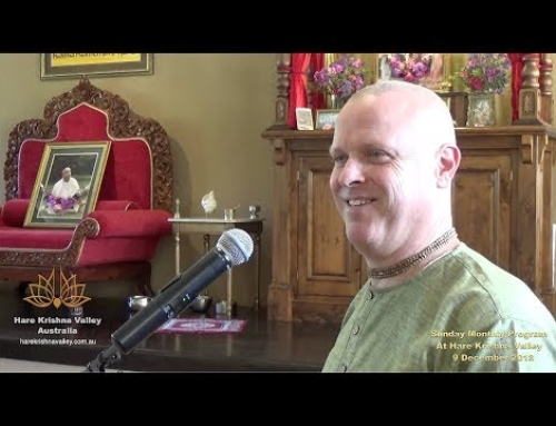 December 2018 Sunday Festival at Hare Krishna Valley